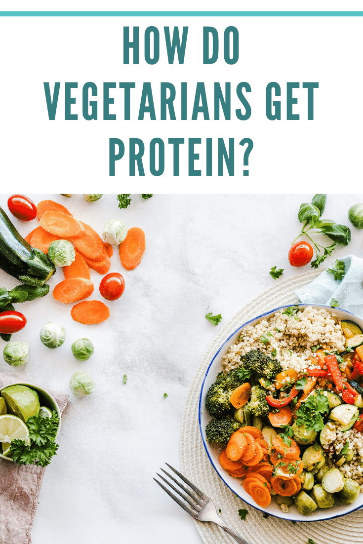 How to vegetarians get protein