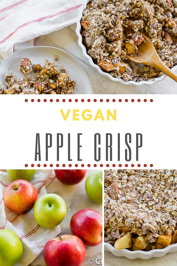 pinterest vegan apple crisp